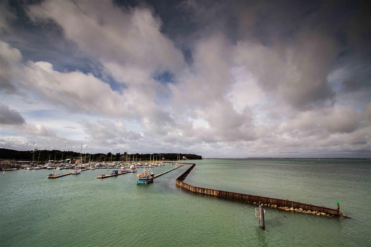 Hafen auf der Isle of Wight