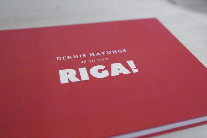 "Cover des Buchs über Riga ""RIGA! 48 Stunden"""