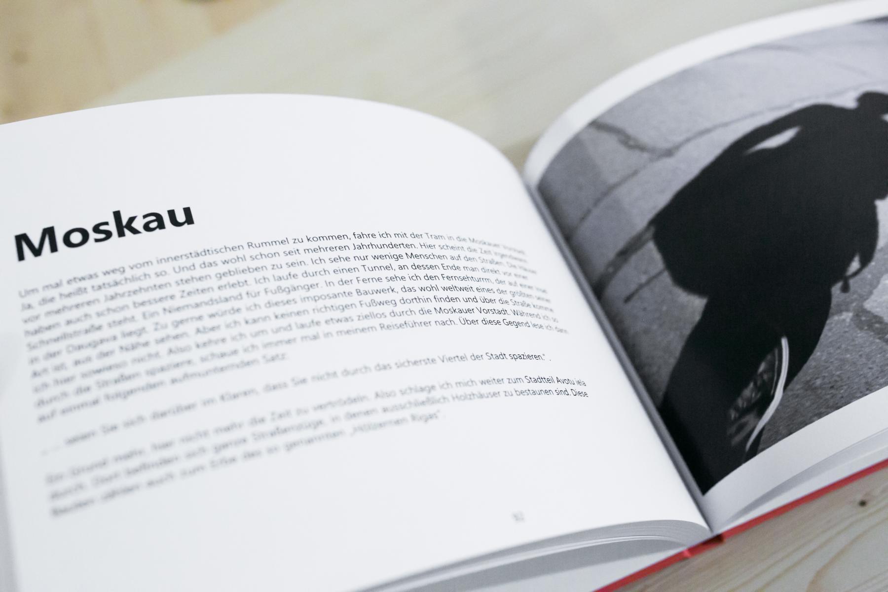 Buch über Rigas Moskauer Vorstadt