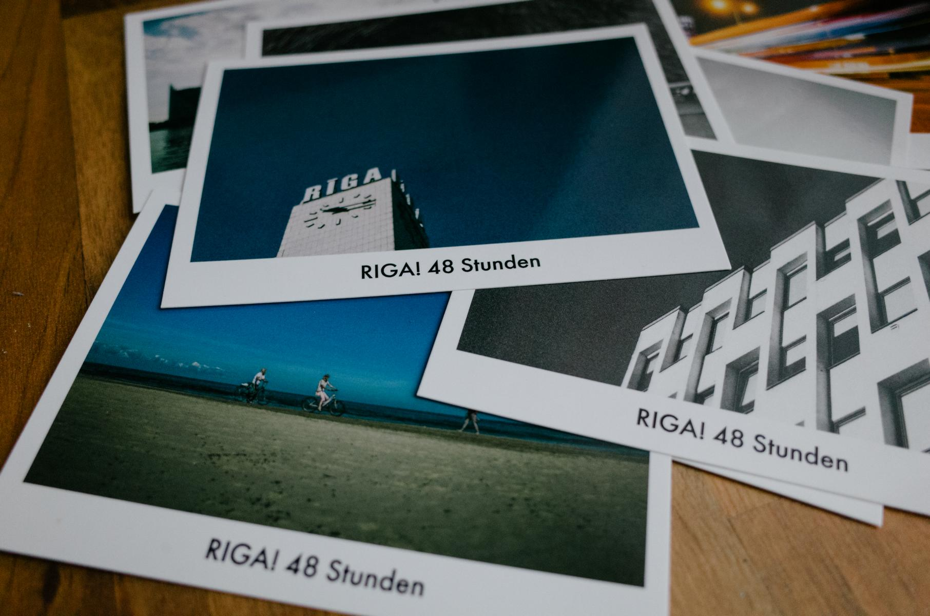 """Postkarten zum Buch """"RIGA! 48 Stunden"""""""