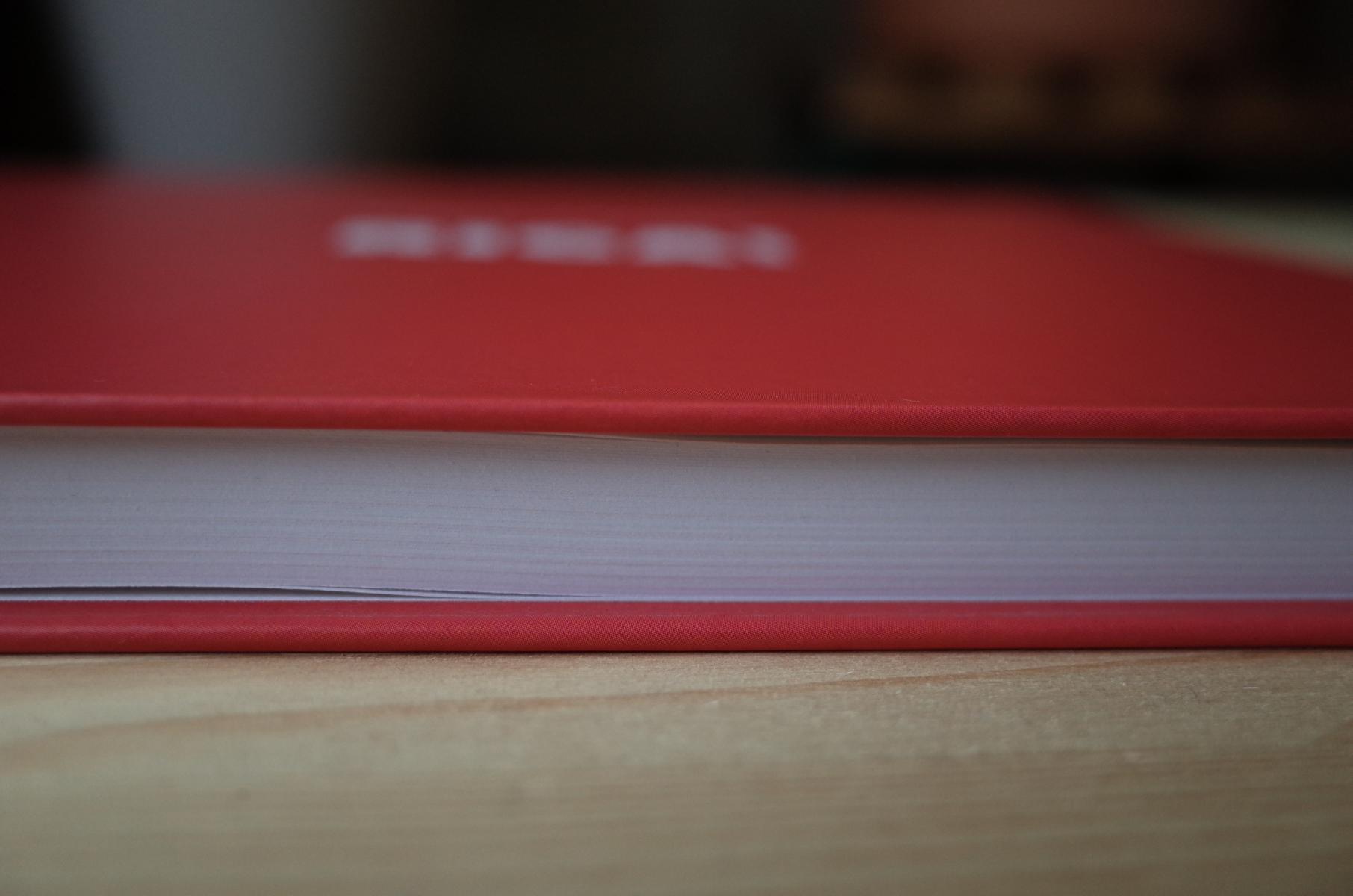 Seitenansicht des Buchs über Riga
