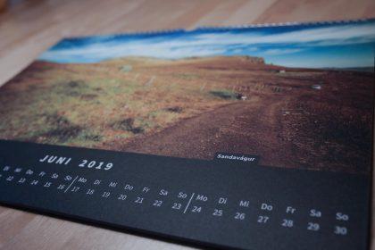 Färöer Kalender 2019
